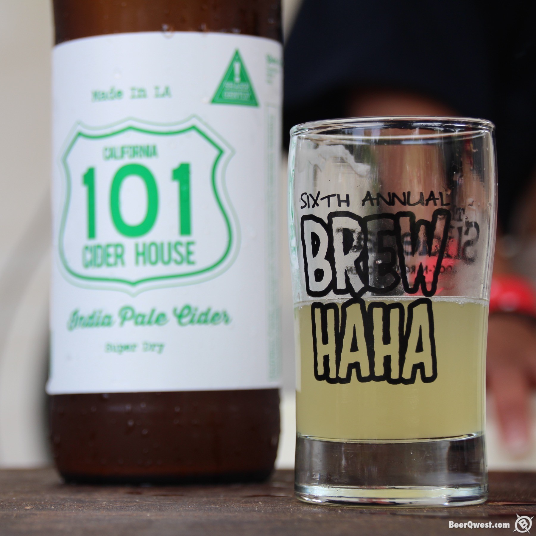 India Pale Cider from 101 Cider House at OC Brew Ha Ha