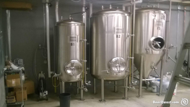 Fermenters at Beaverhead Brewing Company