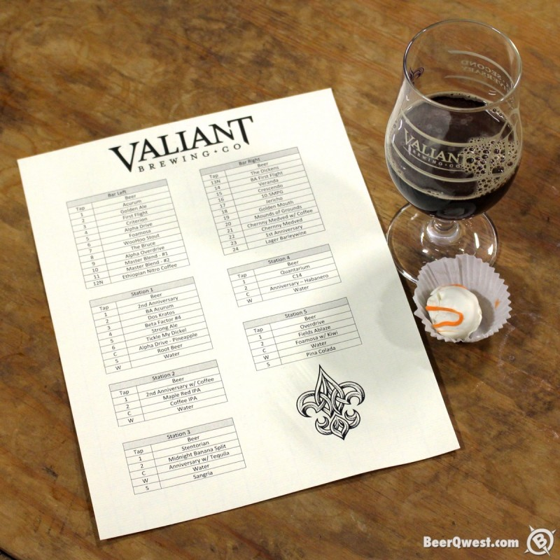 Valiant Brewing Company Second Anniversary