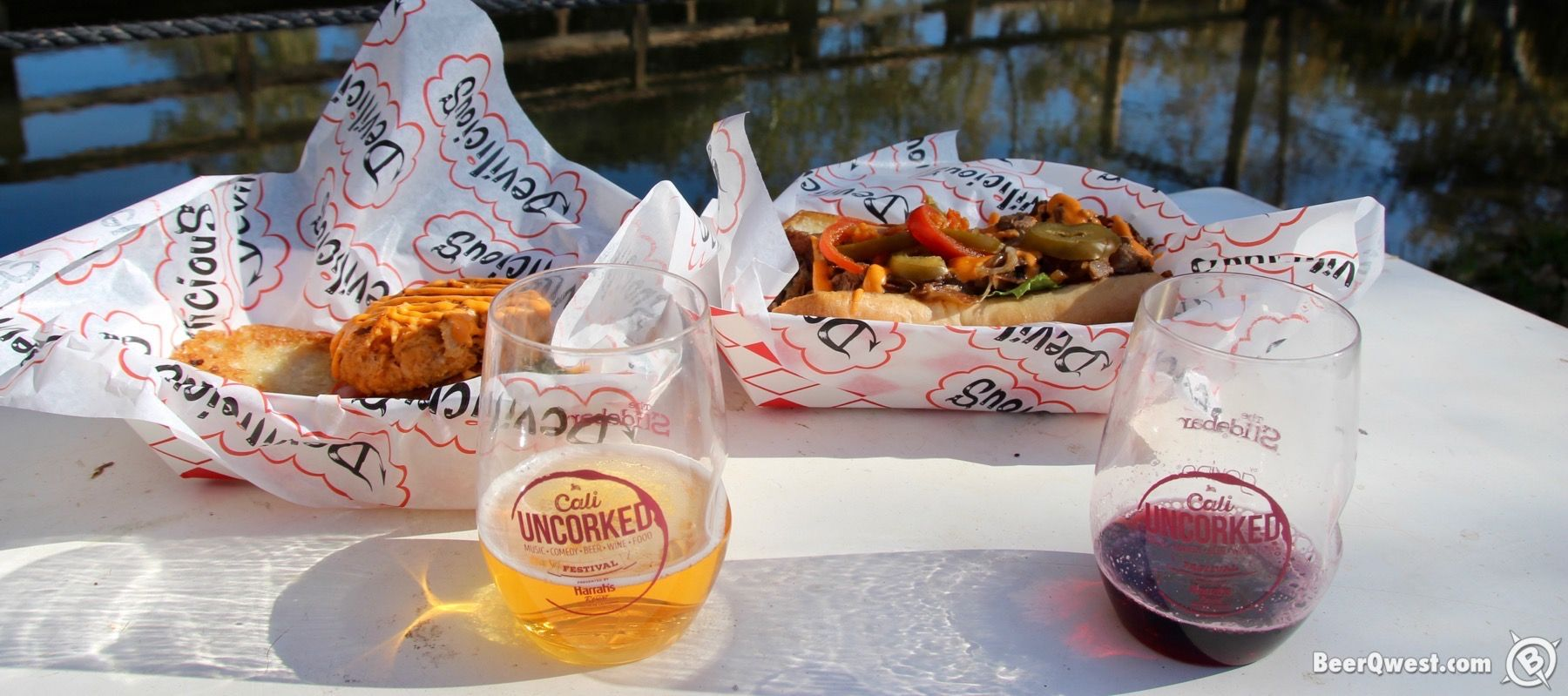 Devilicious food, craft beer, and wine.