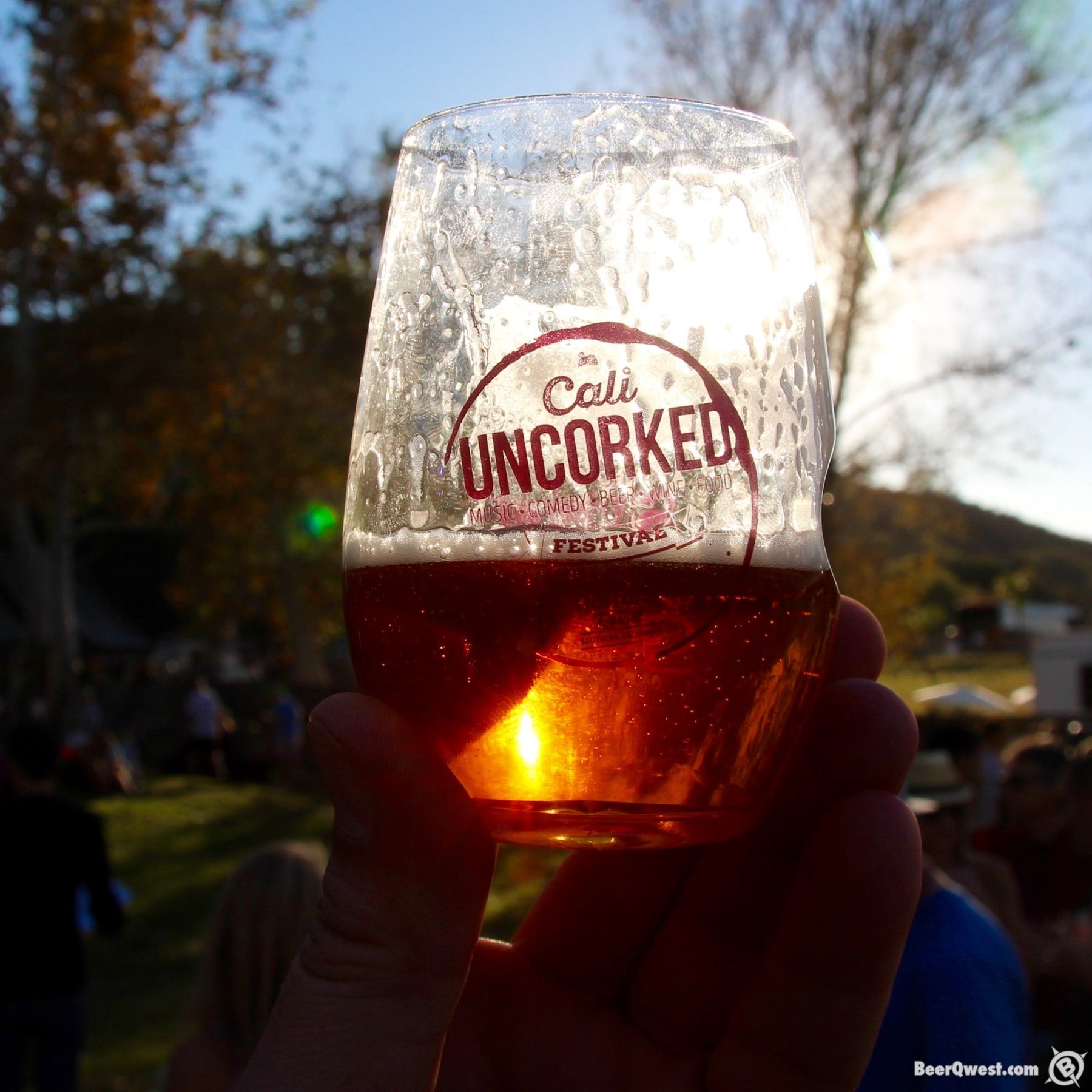 Cali Uncorked Glass