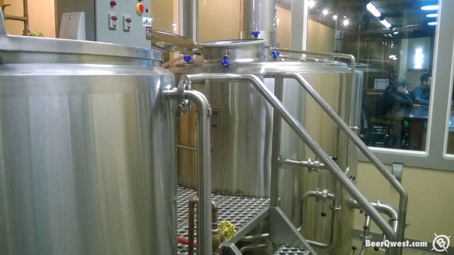 Brewing System at Beaverhead Brewing Company