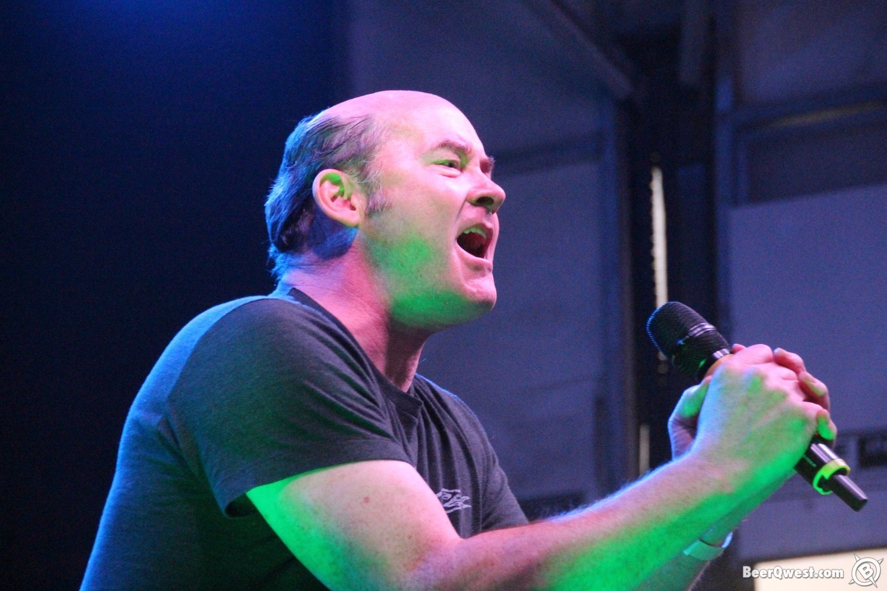 David Koechner on stage at Cali Uncorked