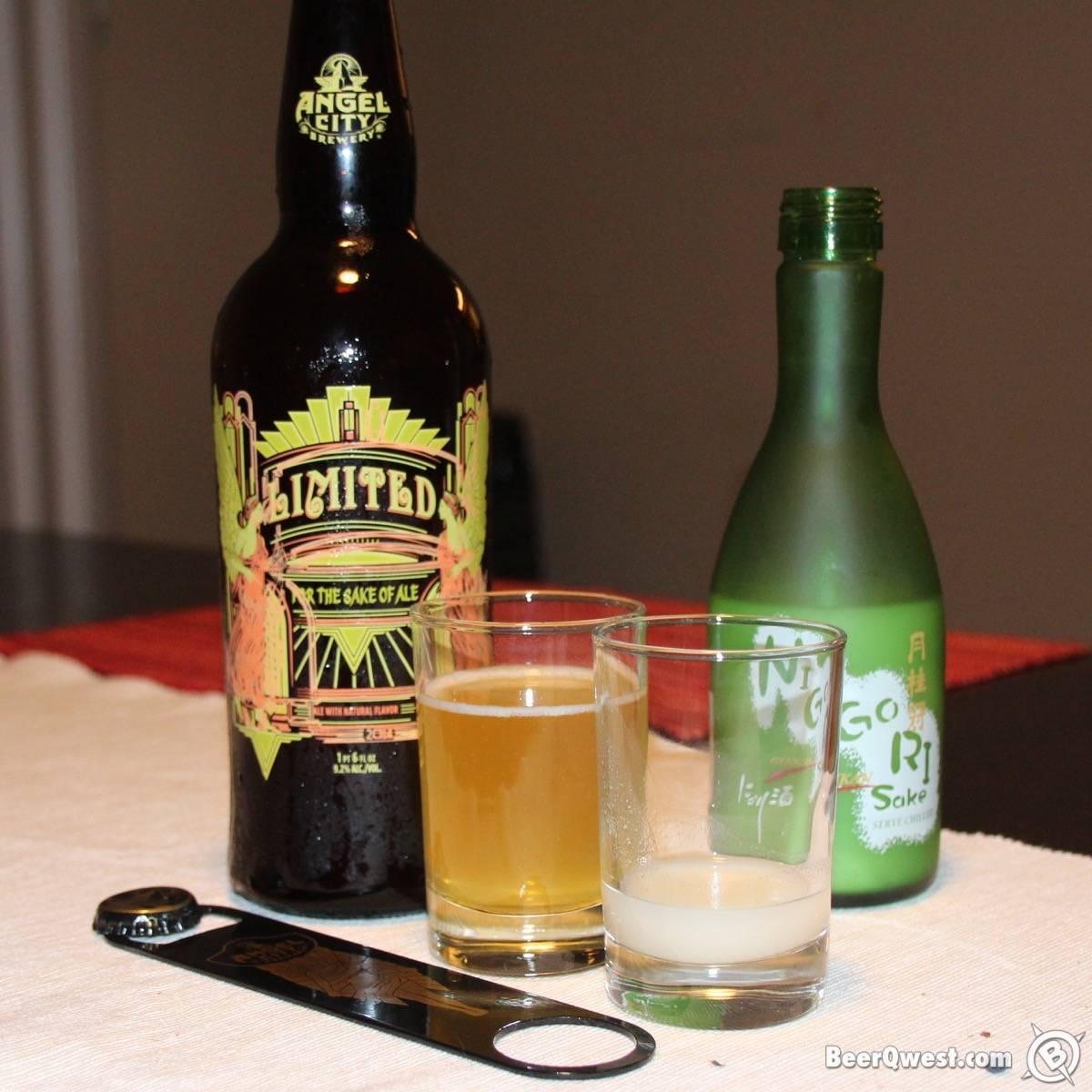 Sake Beer with Nigori Sake