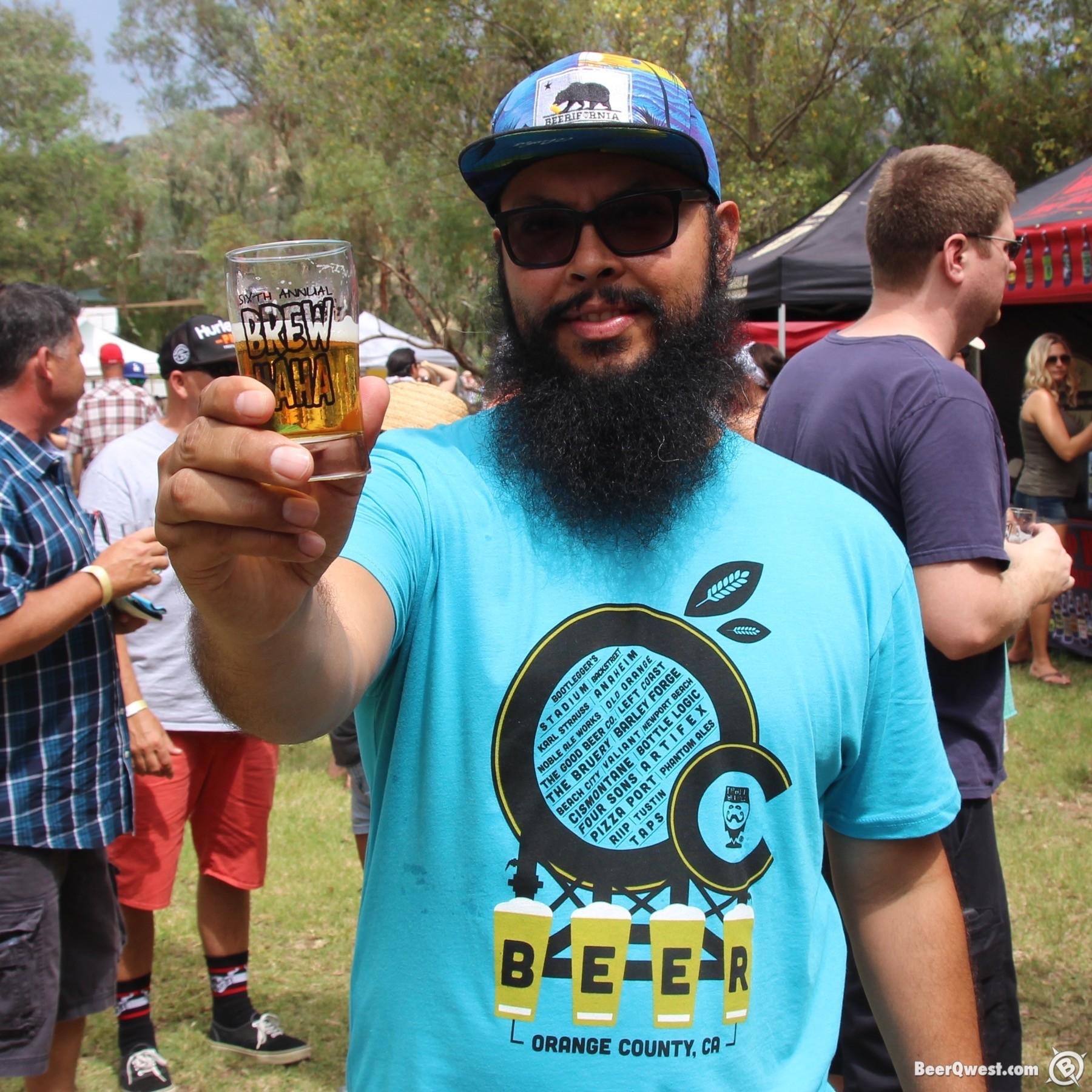 Craft Beerd at 2015 OC Brew Ha Ha