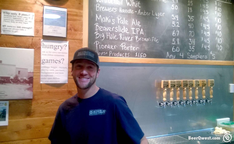 Austin at Beaverhead Brewing Company
