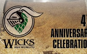Wicks Brewing Company Celebrates 4 Years