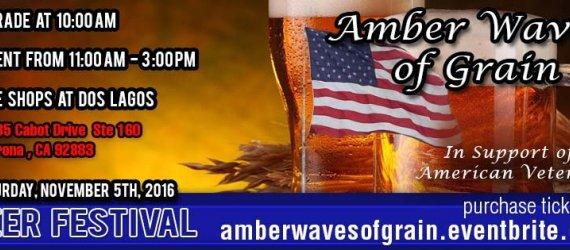 Amber Waves of Grain Beer Festival